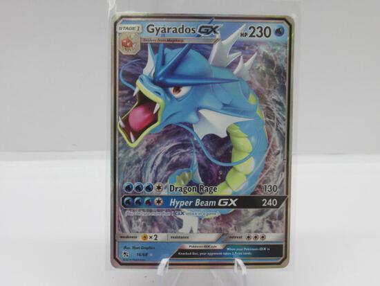 Pokemon Card Hidden Fates Gyarados Ultra Rare 16/68