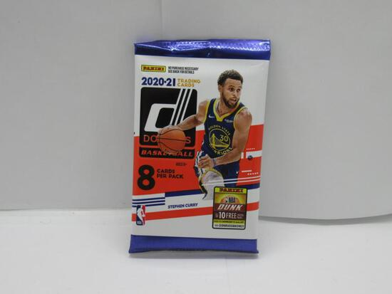 Factory Sealed 2020-21 DONRUSS Basketball 8 Card Pack - LaMelo Ball RC?