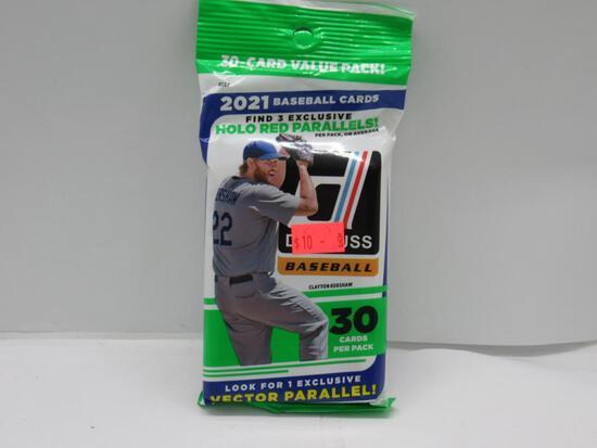 Factory Sealed 2021 DONRUSS Baseball 30 Card JUMBO Pack