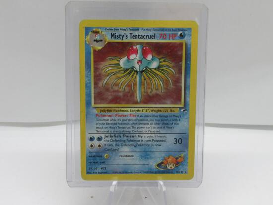 2000 Pokemon Gym Heroes #10 MISTY'S TENTACRUEL Holofoil Rare Trading Card from Cool Collection