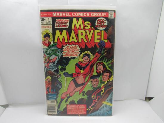 Ms. Marvel #1 Bronze Age Key 1st Carol Danvers as Ms Marvel Issue 1977 Marvel