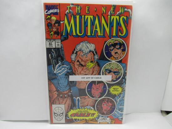 New Mutants #87 1st App of Cable Key Modern Marvel 1990