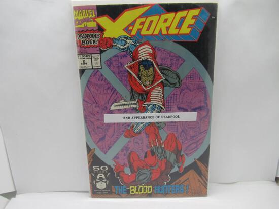 X-Force #2 2nd Deadpool App 1991 Marvel