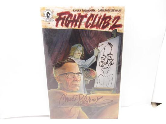 Fight Club 2 #10 Signed by Chuck Palahniuk! Hypno Exclusive Variant LTD to 500 Dark Horse