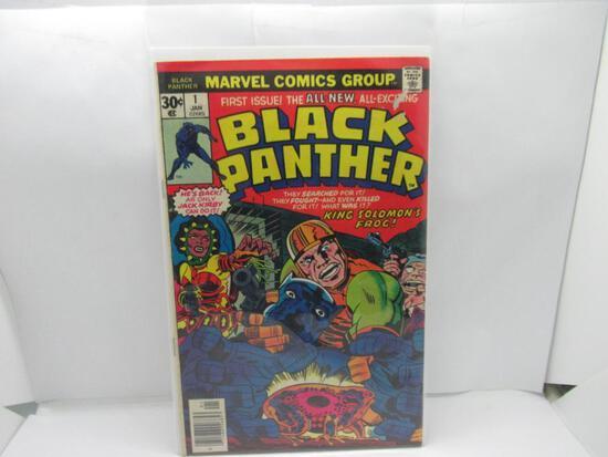Black Panther #1 Jack Kirby Key Bronze Age 1977 Marvel