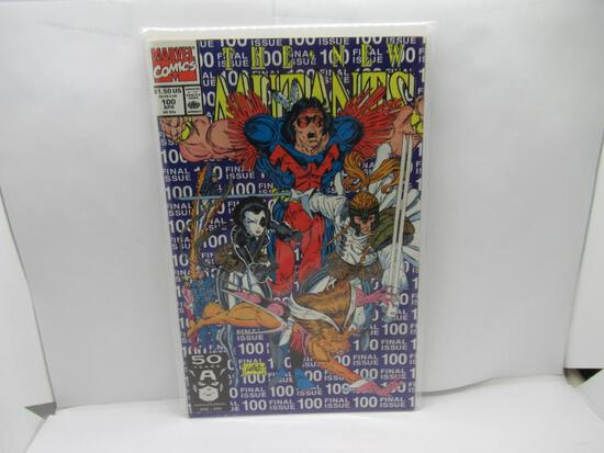 New Mutants #100 1st Appearance of X-Force! Rob Liefeld 1991 Marvel