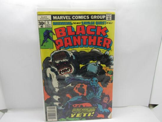 Black Panther #5 Jack Kirby Last 30 Cent Issue Bronze Age 1977 Marvel