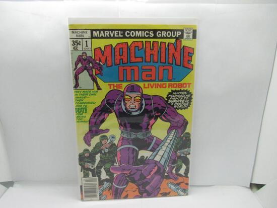 Machine Man # 1 Jack Kirby art / 1st Peter Spaudling Bronze Age Marvel Comics 1978