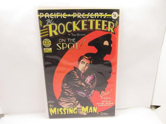 Rocketeer #2 Original Dave Stevens Pacific Comics 1983