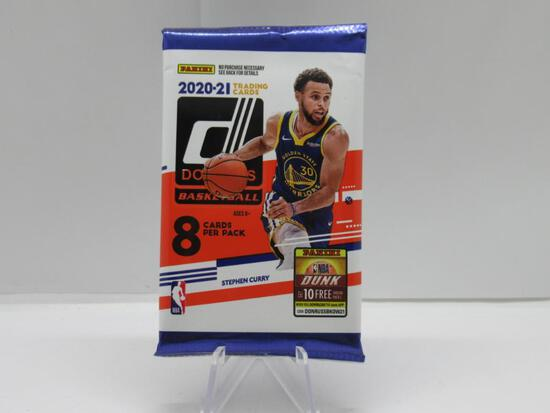 Factory Sealed 2020-21 Donruss Basketball 8 Card Pack