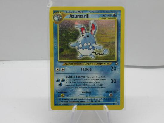 Pokemon Card HOLO Azumarill Neo Genesis