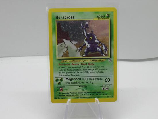 Pokemon Card HOLO Heracross Neo Genesis