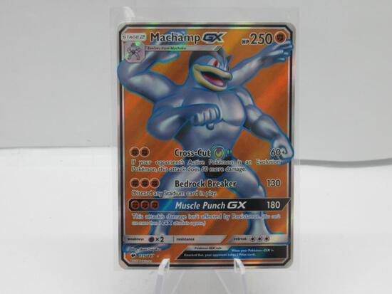 Pokemon Card Machamp GX (Full Art) SM - Burning Shadows