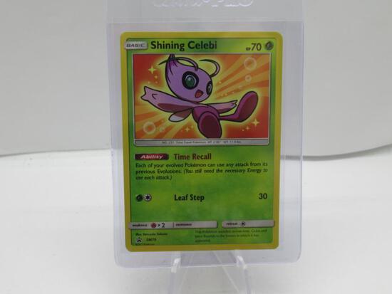 Pokemon Card Black Star Sun & Moon Shining Celebi
