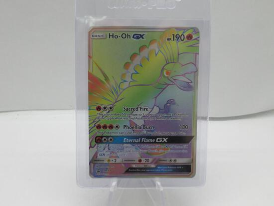 Pokemon Card Black Star Sun & Moon Hyper Rainbow Rare