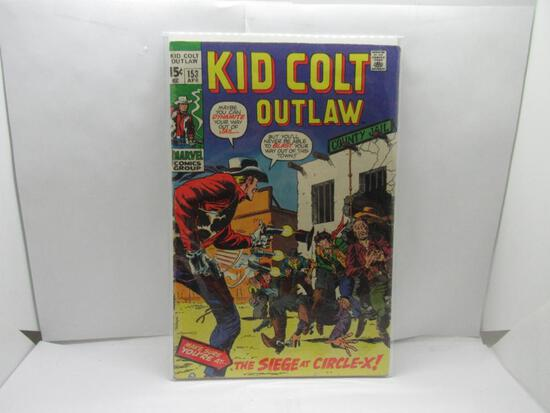 Marvel Comics KID COLT OUTLAW #153 Bronze Age Comic Book from Cool Collection