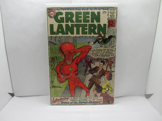 DC Comics GREEN LANTERN #13 Silver Age Key Issue Comic Book from Cool Collection