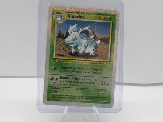 2002 Pokemon Legendary Collection #55 NIDORINA Reverse Holofoil Trading Card