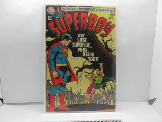 Vintage DC Comics SUPERBOY #157 Silver Age Comic Book from Estate Collection