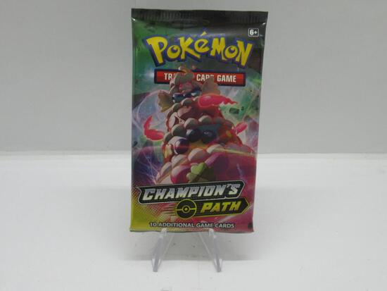 Factory Sealed Pokemon CHAMPION'S PATH 10 Card Booster Pack