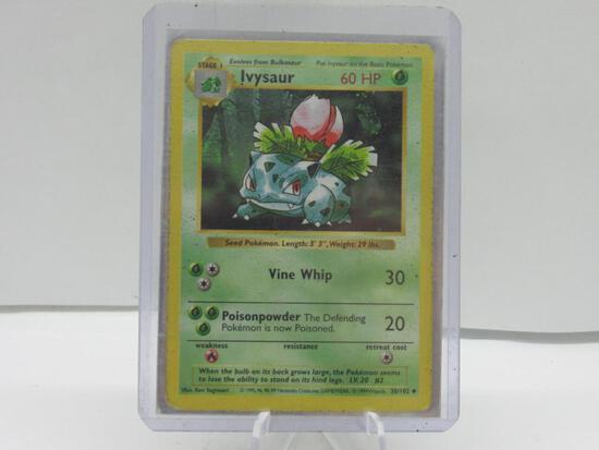 1999 Pokemon Base Set Shadowless #30 IVYSAUR Vintage Trading Card