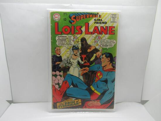 Vintage DC Comics LOIS LANE #79 Silver Age Comic Book from Awesome Collection