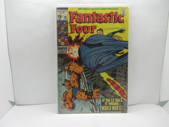 Vintage Marvel Comics FANTASTIC FOUR #95 Silver Age KEY Comic Book from Awesome Collection