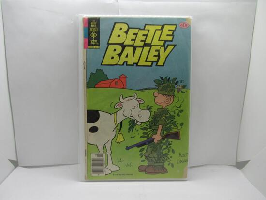 Vintage Gold Key Comics BEETLE BAILEY Comic Book from Awesome Collection