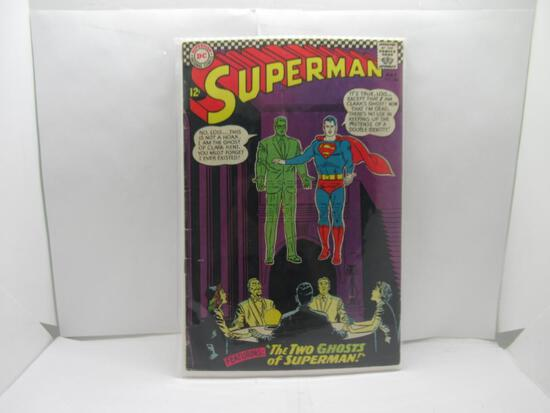 Vintage DC Comics SUPERMAN #186 Silver Age Comic Book from Awesome Collection