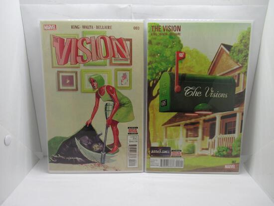 The Vision #2 & #3 Wandavision Tom King First Prints Marvel