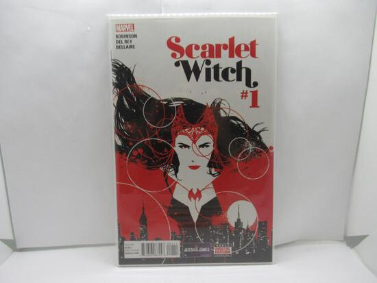 Scarlet Witch #1 Wandavision First Issue 2016 Marvel