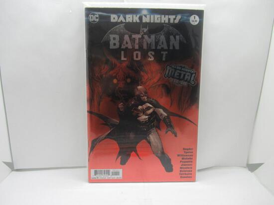 Batman Lost Dark Nights Metal Foil First Print DC Comics