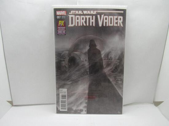 Darth Vader #7 San Diego Comic Con Exclusive Variant B&W Cover 2015 Marvel