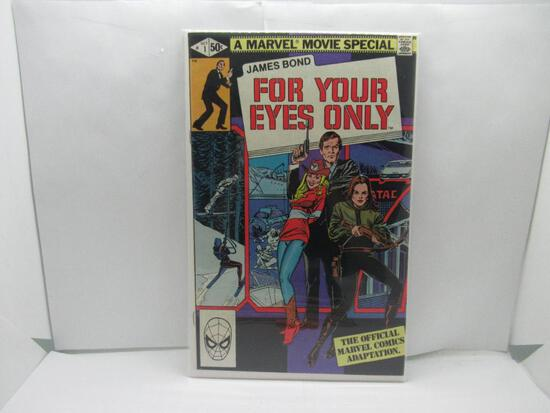 Marvel Movie Special James Bond #1 For Your Eyes Only 1981