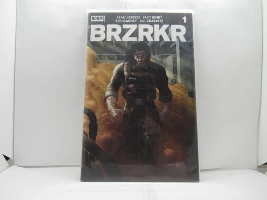 BRZRKR #1 Grampa Variant First Print Keanu Reeves Netflix Boom Studios!