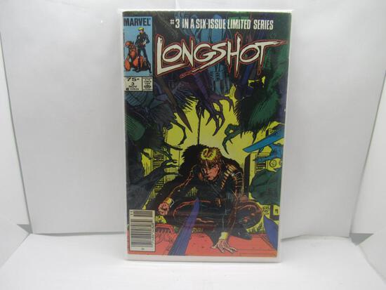Longshot #3 Art Adams X-Men 1985 Marvel