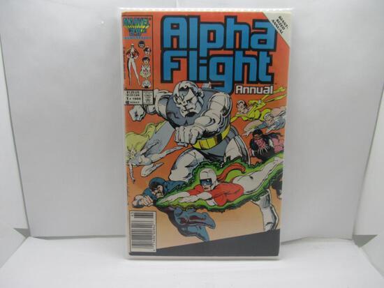Alpha Flight Annual #1 1985 Marvel
