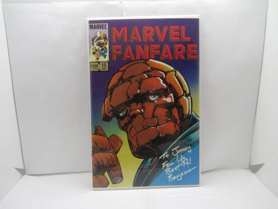 Marvel Fanfare #15 Classic Thing Cover 1984 Marvel