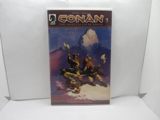 Conan #1 The Frazetta Cover Series Dark Horse Comics