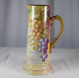 Hand Painted Limoges Pitcher