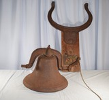 Antique Bell with Frame