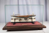 Whaling Long Boat Ships Model