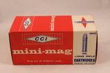 Box of CCI 22 Long Rifle Mini-Mag Cartridges No 22HS