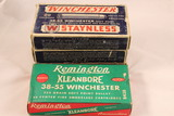 Lot of Four Boxes of Winchester and Remington 38-55 Ammo