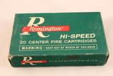 Vintage Remington Hi-Speed 303 British Ammo