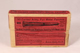 UNOPENED box of Winchester .30 Caliber Army Full Metal Patched Ammo