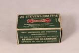 Vintage Stevens Rim Fire .25 Ammo