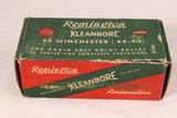 Vintage Remington Kleanbore 44-40 Ammo