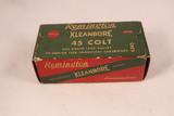 Vintage Remington Kleanbore 45 Colt Ammo