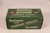 Vintage Remington Kleanbore 22 LR Ammo
